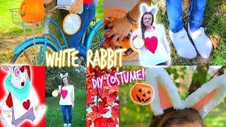 DIY: White Rabbit Halloween Costume!