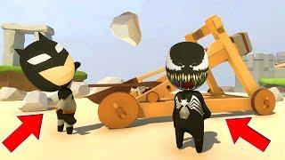 Venom and Batman (Funny Moments)