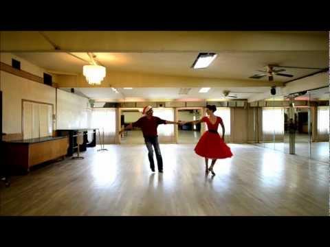 West Coast Swing to 'White Christmas' - Zoey and Nikhil
