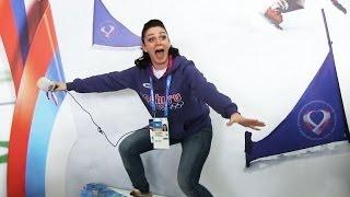 Корреспондент Авторадио побывала в главной фан-зоне Олимпийских игр - Доме болельщика
