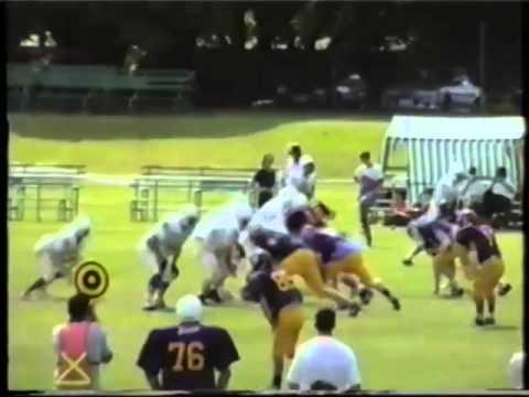 Qld Gridiron Football League Cougars v Sharks 1997