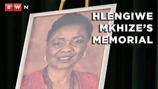 The official memorial service for late deputy minister in the Presidency for Women, Youth and Person with Disabilities, Professor Hlengiwe Mkhize, took place in Johannesburg on 23 September 2021.   #HlengiweMkhize