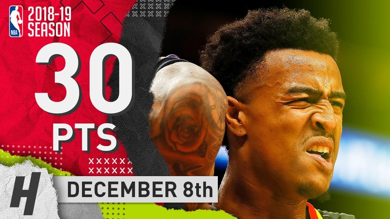 john-collins-full-highlights-hawks-vs-nuggets-2018-12-08-30-pts-5-ast-12-rebounds