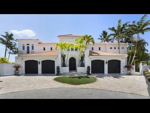 Luxury Waterfront Homes | Florida Real Estate | 880 Dover Street Boca Raton, Florida