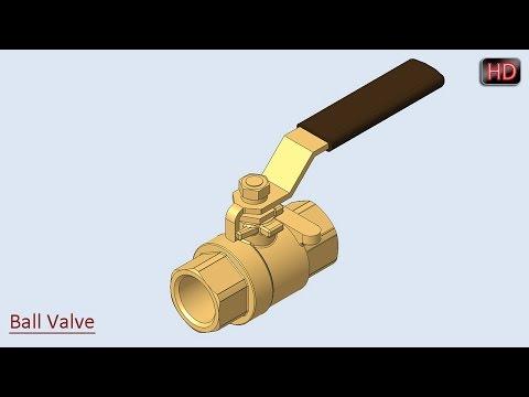 Ball Valve ||  Creo Parametric Tutorial
