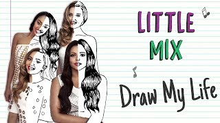little mix drawing lesson