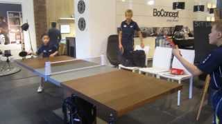 Boconcept, Redbrick Mill, Yorkshire With The English Table Tennis Ass. Yorkshire Region