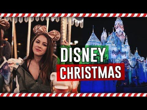 CHRISTMAS AT DISNEYLAND // Vlogmas Day 14