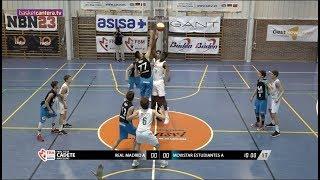 U16M - REAL MADRID vs ESTUDIANTES.- Final Four Cadete Masc. Madrid 2018  (BasketCantera.TV)