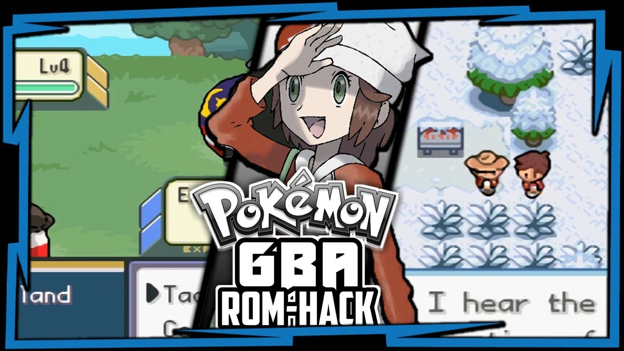 Pokemon Gba Rom Hack With Fakemons New Story Region Youtube