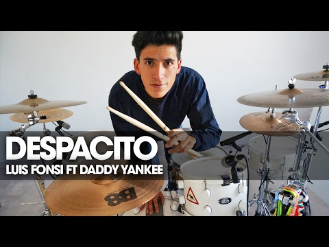 Free Download Despacito - Luis Fonsi Ft Daddy Yankee  - Drum Cover | Ale Alejandro Vlogs Mp3 dan Mp4