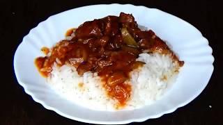 Как приготовить азу. Рецепт азу с солеными огурчиками. Тушёная говядина. Тушёное мясо.