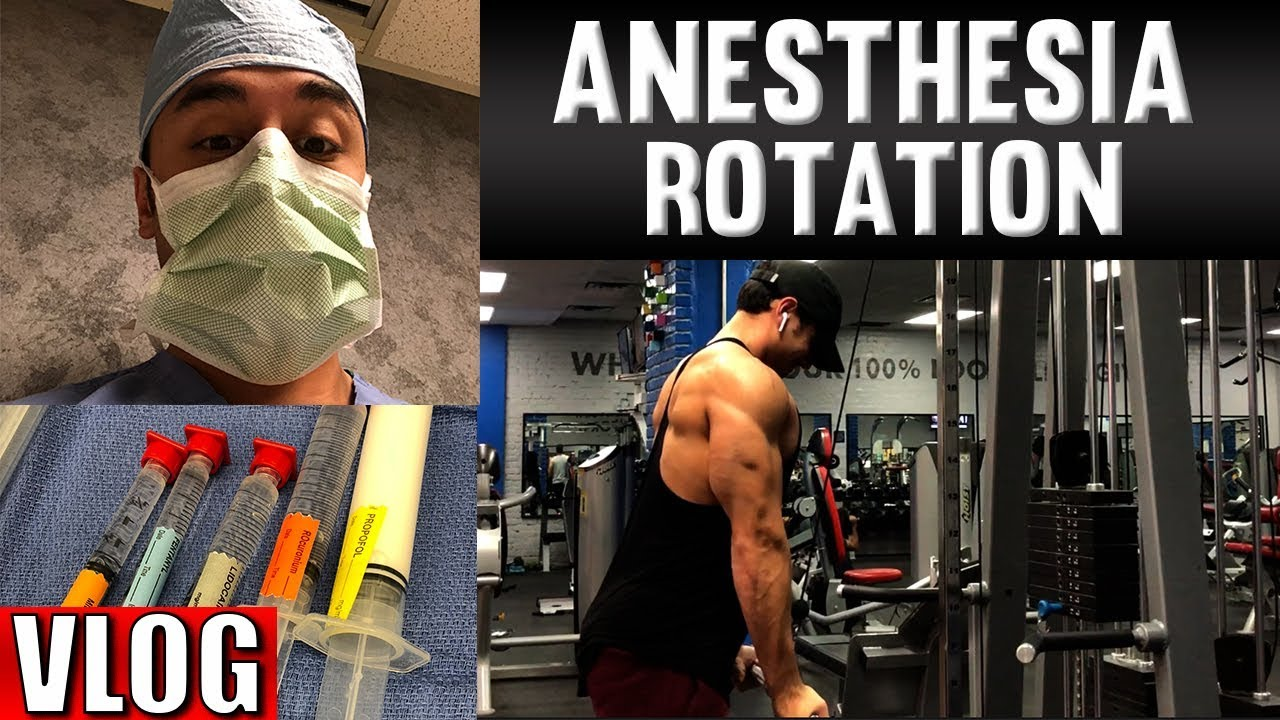 A Day in the Life of a Medical Student | Anesthesiology Rotation Vlog #MedicalRadiology