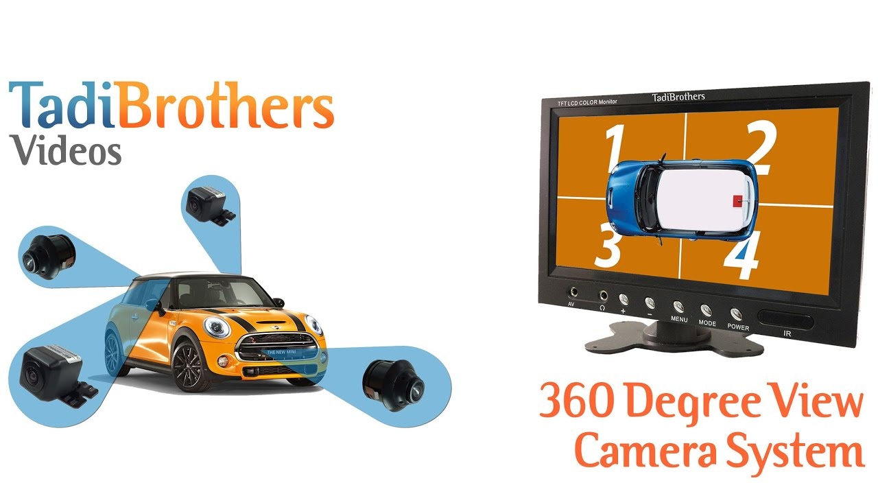 360 degree camera system for a car van or truck from youtube. Black Bedroom Furniture Sets. Home Design Ideas