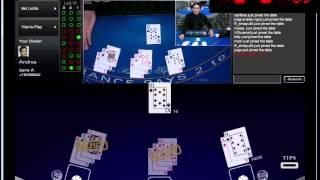 BlackJack Gameplay- Live Casino- Sessão #05
