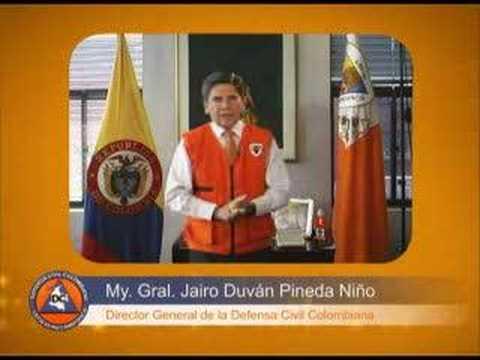 Defensa Civil Colombiana -  Video Institucional