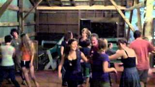 Algoma Trad 2010, first night dance