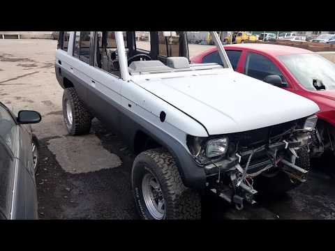 Восстановление Toyota Land Cruiser Prado 78 часть II