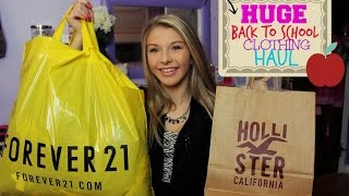 HUGE Back To School Clothing Haul! Thumbnail