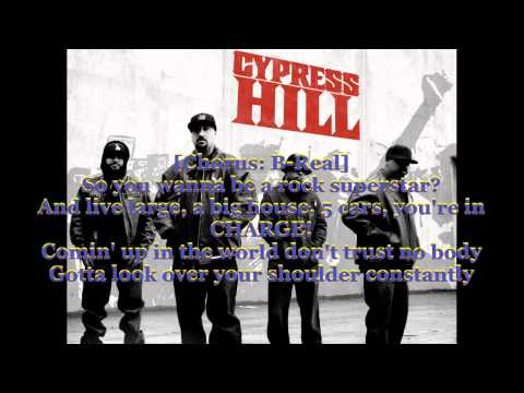 Cypress Hill-Rock superstar (Lyrics on screen)