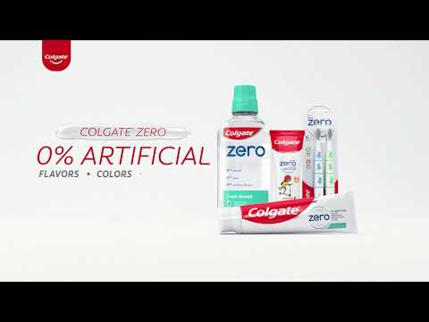 Colgate® Zero Toothpaste And Mouthwash For Adults And Kids