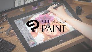 Disfruta cada nueva creación  con CLIP STUDIO PAINT