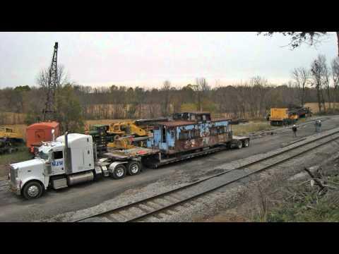 Unloading Lehigh Valley #95100 - Timelapse