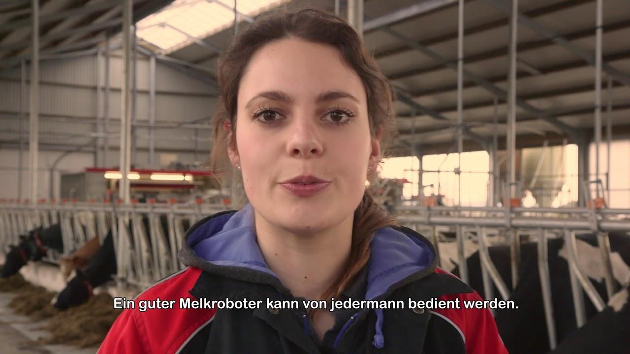 Kompilierungsvideo – Lely Astronaut A5 pilotkunden – DE
