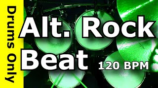 Backing Track - Alternative Rock Drum Beat 120 BPM - JimDooley.net