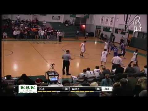 Boys Basketball- Webb Spartans vs. Donelson Christian Academy