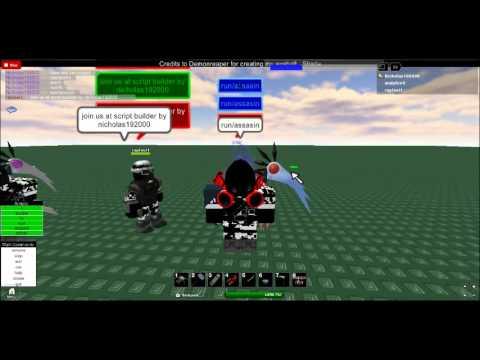 Black Scythe And Assasin Eyeball Orb Cba Admin Mix Scripts Preview
