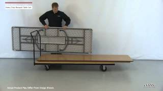 Banquet Table Cart / Dolly For Transport And Storage