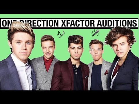 One Direction X Factor Auditions