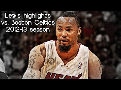 Rashard Lewis season-high 19 points (NBA RS 2012/2013 - Boston Celtics vs. Miami Heat)