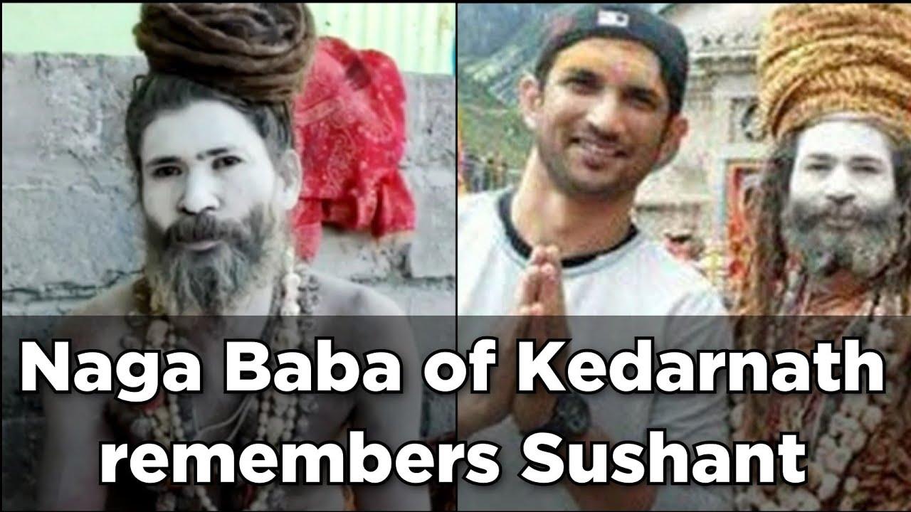 "Download ""Sushant rajkumar bachcha thha"": Naga Baba of Kedarnath"