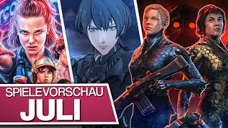 Neue Spiele im Juli: Stranger Things 3: The Game, Fire Emblem: Three Houses, Wolfenstein: Youngblood