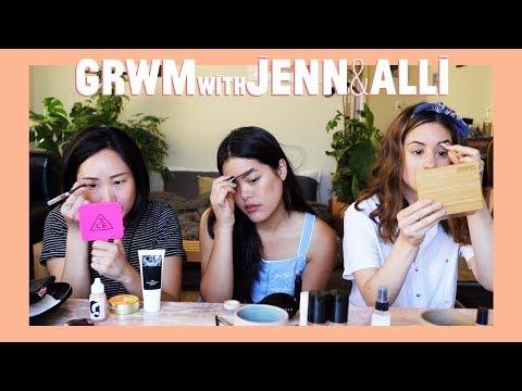 GRWM w/ Jenn Rogers & Alli Cherry!!