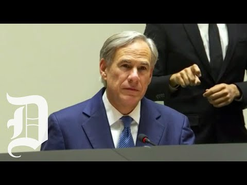 Texas Gov. Greg Abbott, DFW mayors address protest violence