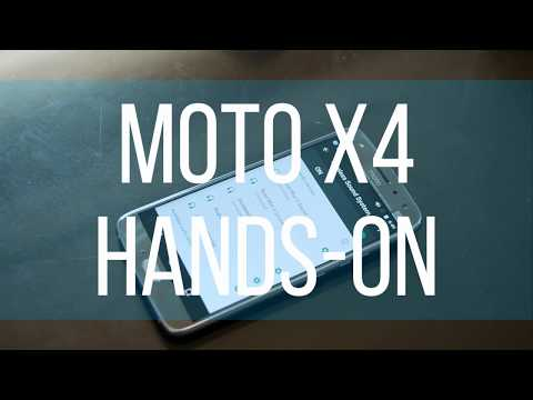 Moto X4 hands on: Now a mid-ranger beauty