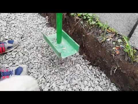 Полный процесс подготовки и укладки тротуарной плитки за 1.5 мин