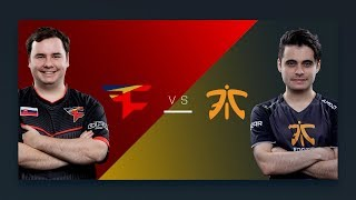 CS:GO - FaZe vs. Fnatic [Overpass] Map 2 - Semifinal - ESL Pro League Season 6 Finals