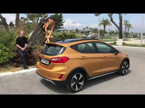 2018 ford fiesta active der kleine macht auf suv youtube. Black Bedroom Furniture Sets. Home Design Ideas