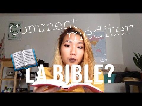 Partage | Comment méditer la bible? 📖