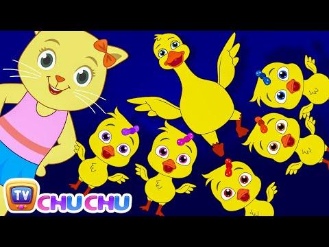 Five Little Ducks (SINGLE)   Nursery Rhymes by Cutians   ChuChu TV Kids Songs - วันที่ 28 Nov 2017