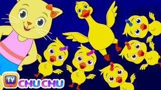 Five Little Ducks (SINGLE) | Nursery Rhymes by Cutians | ChuChu TV Kids Songs