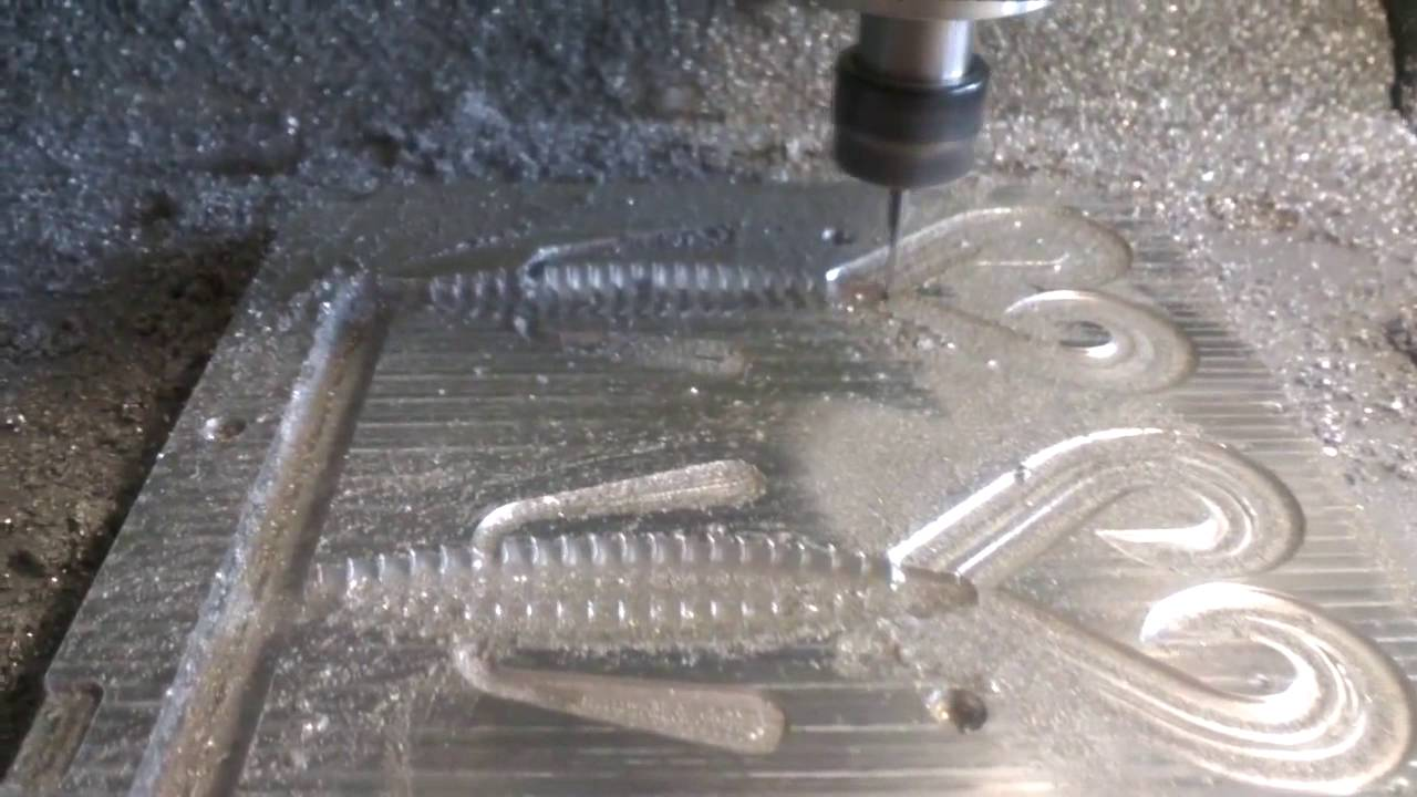 Manufacturing of aluminum molds for soft plastic baits