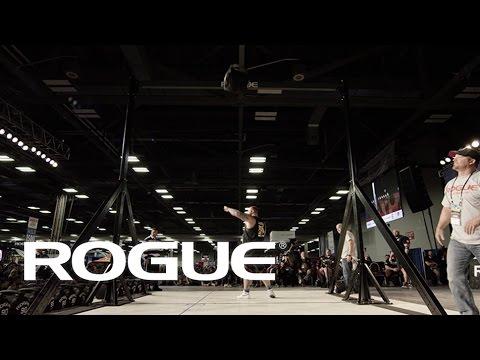 2017 Arnold Strongman Classic - Weight Over Bar / 4K