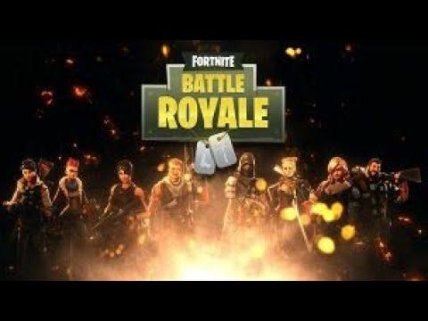 Fortnite batle royale on rush le top 1