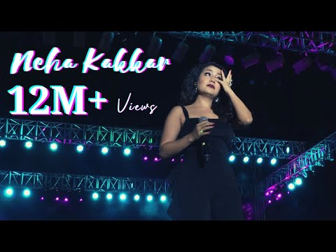 Neha Kakkar Live in Ahmedabad - Cry infront of Audience for Breakup
