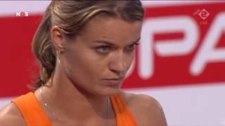 Dafne Schippers 10.90 Winner Women's 100m Final European Athletics Championships Amsterdam 2016
